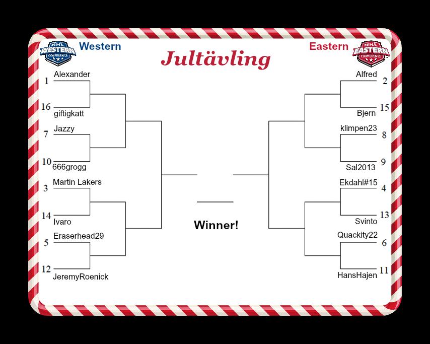 Jultävling conference-kvartsfinaler