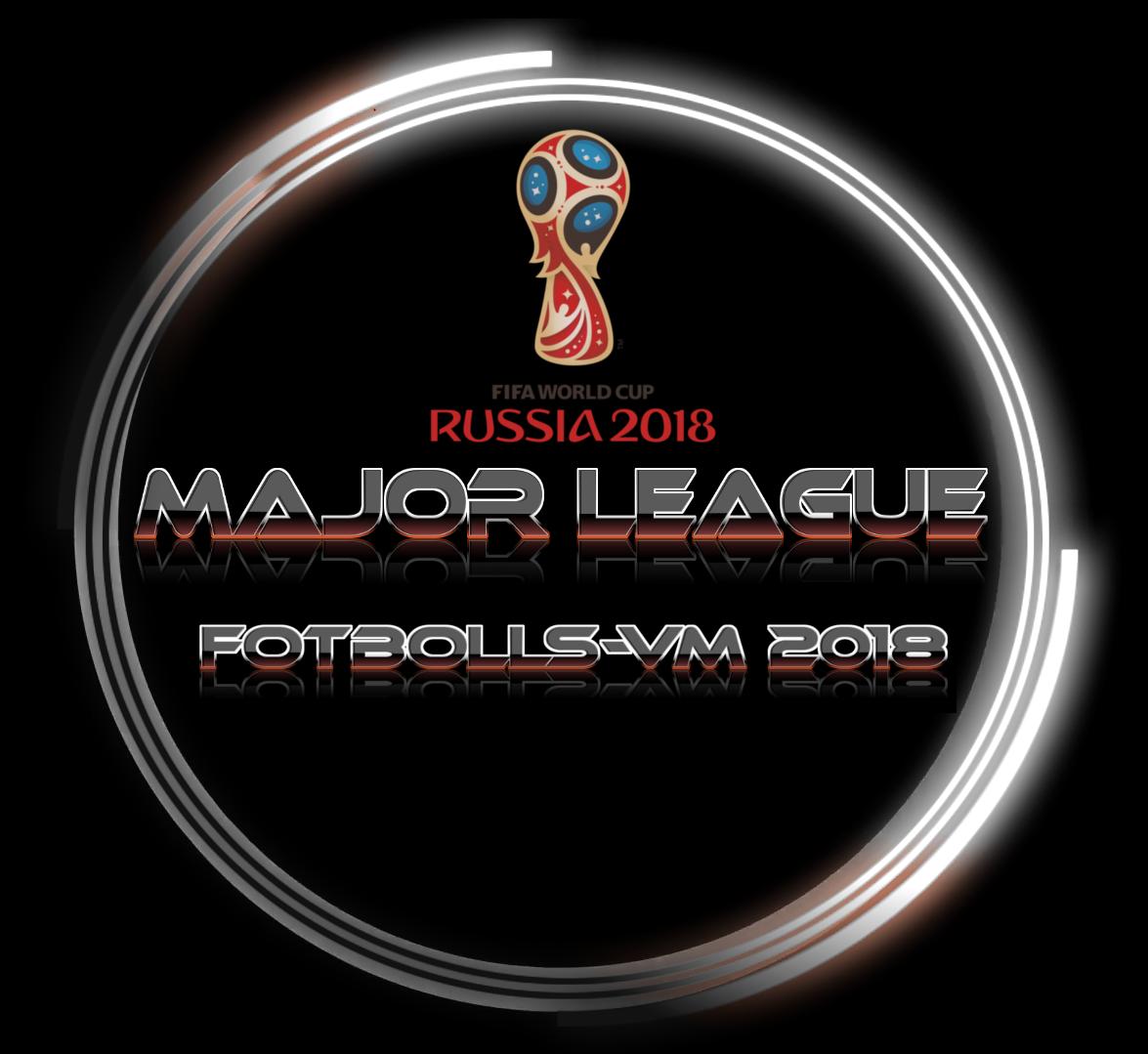 Major League Fotbolls-VM 2018 (nytt tävlingskoncept – 1 plats kvar!)